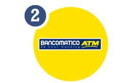 Real-time phone recharge at any CMB Bancomatico (ATM)